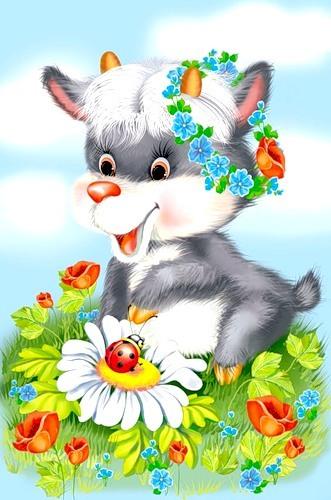 Детские открытки с животными (30 штук): segalega.ucoz.ru/news/kartinki_otkrytki_s_zhivotnymi/2011-09-17-236