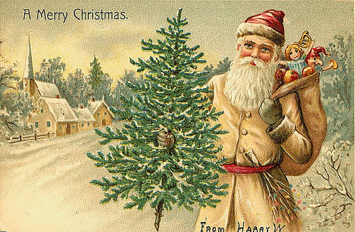Интересные открытки рождеством