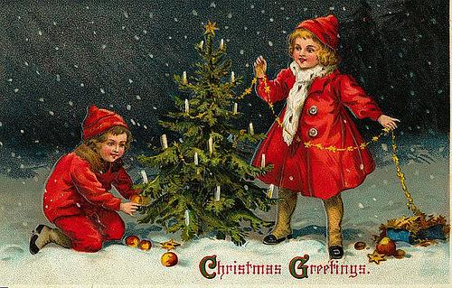 Рождественские поздравления christmas