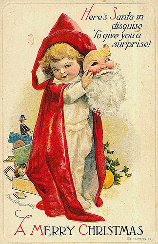 Рождество по-старому открытки